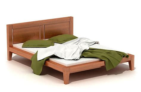 unmade bed unmade bed 3d model cgtrader com