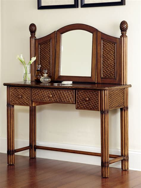 marco island bedroom set home styles marco island vanity and mirror home