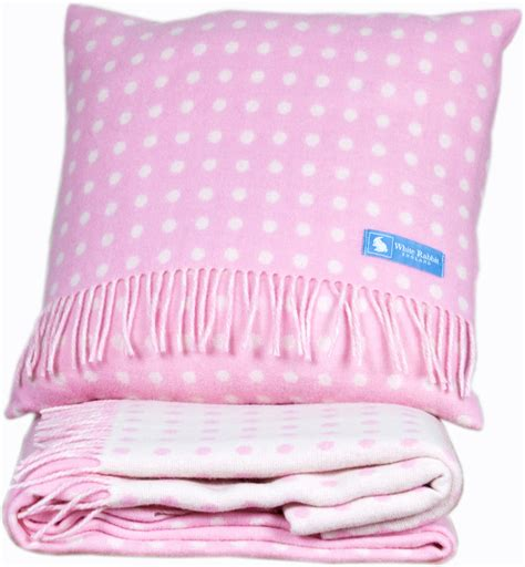 pink bedroom cushions childrens pink spotty cushion white rabbit england