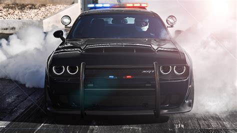 Dodge Challenger SRT Demon Police Concept Is a Cop's Dream