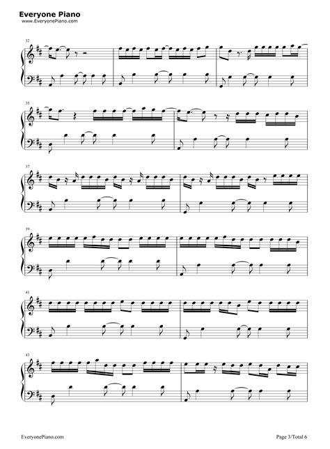 despacito justin bieber chord despacito justin bieber stave preview 3 free piano sheet