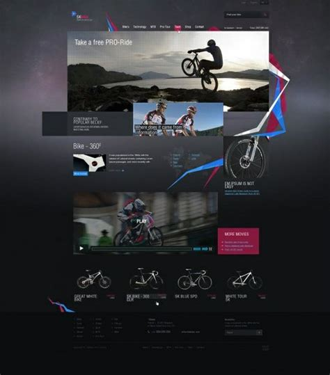 html layout inspiration amazing web design ideas dope webdesign it web