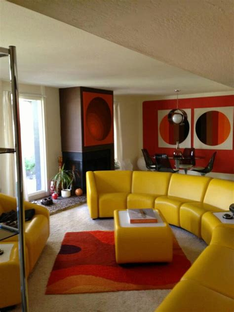 70s style living room 70s living room design inspiration interiors and living rooms