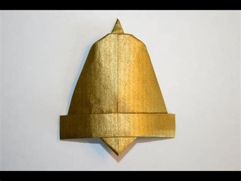 Bell Origami - origami cloche bell senbazuru