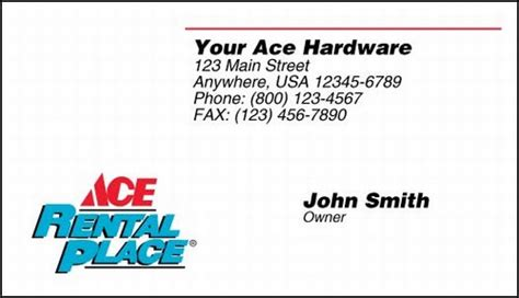 hardware store business card template business cards for hardware store images card design and