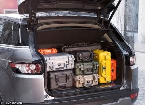 land rover discovery sport trunk space i want to get a range rover evoque is the version a