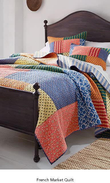Garnet Hill Quilt by Cotton Quilts And Coverlets Pillow Shams Garnet Hill