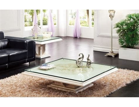 White Marble Coffee Table with glass top   coffeetablesmartin.com   Tables And Beyond