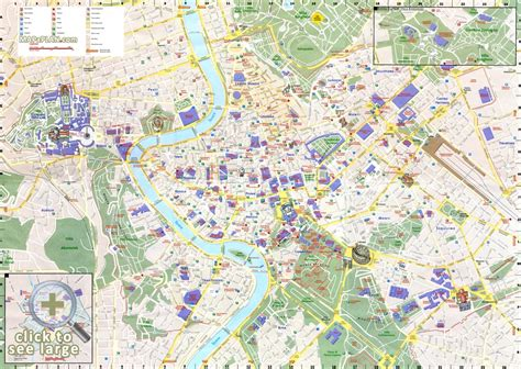 printable street map rome city centre rome maps top tourist attractions free printable city