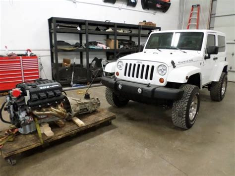 Jeep Hemi For Sale Deal Of The Day Srt8 Hemi Powered Jeep Wrangler For Sale