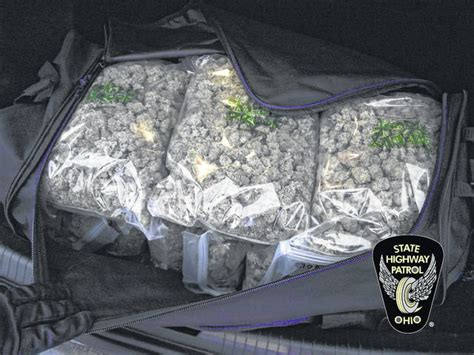 Miami County Oh Court Records Troopers Seize 50 Pounds Of Pot Troy Daily News