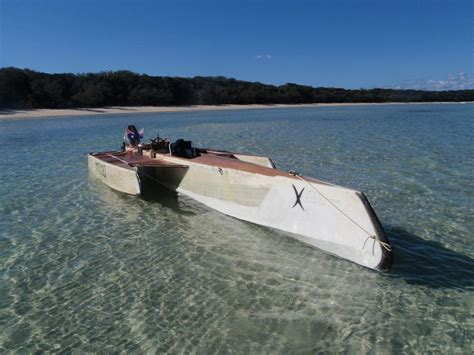 free plywood boat plans simple simple plywood trimaran google search boats