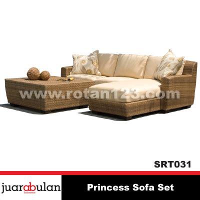 Sofa Rotan Sintetis harga jual princess sofa set sofa rotan sintetis srt031