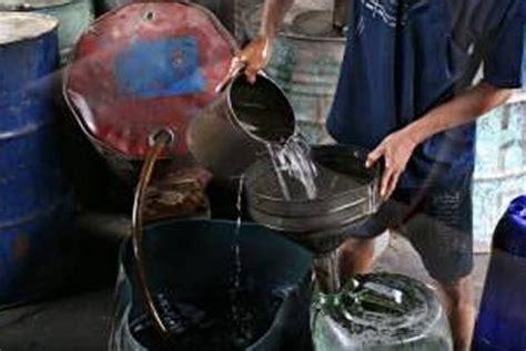 Minyak Tanah penyelundupan minyak tanah ke timor leste digagalkan