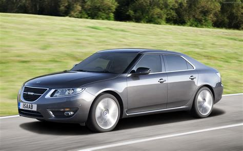 all new saab 9 5 saloon widescreen car photo 05 of