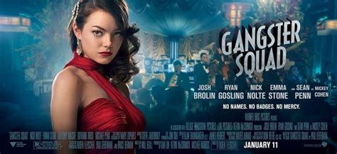emma stone poster emma stone on gangster squad this film was a no