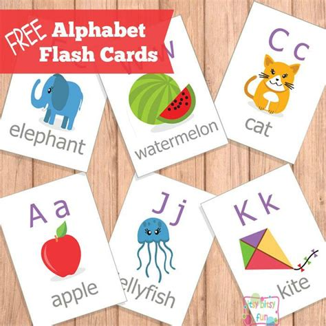 printable alphabet cards with pictures free printable abc flash cards printable alphabet