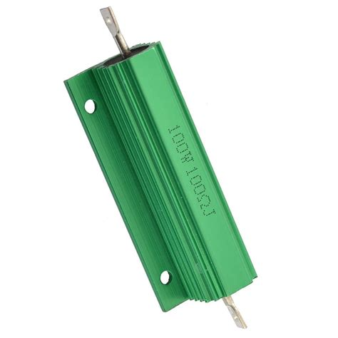 100 ohm power resistor aluminum shell 100w watt 100 ohm wirewound power resistor n3 ebay