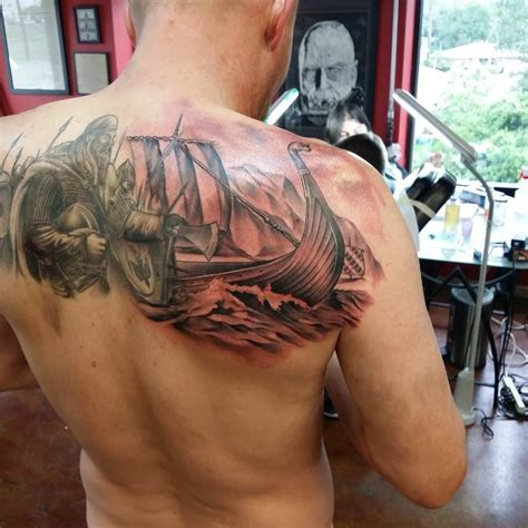 viking longship tattoo design 25 viking designs ideas design trends