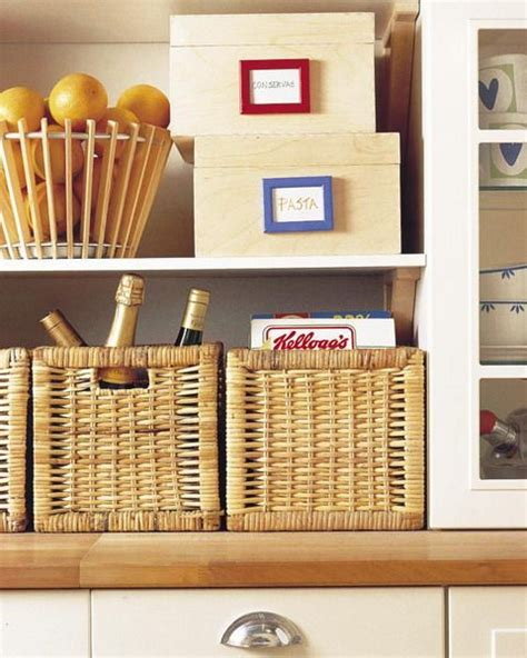 Kitchen Pantry Organization Baskets by 17 Best Images About Wicker Baskets Around The Home On