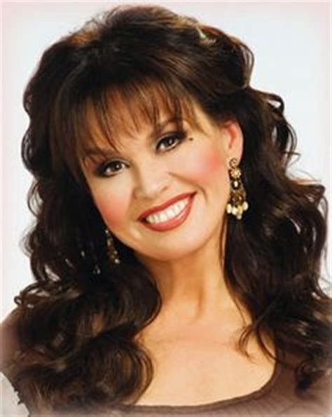 how to cut a marie osmond layered cut marie osmond medium straight formal hairstyle with layered