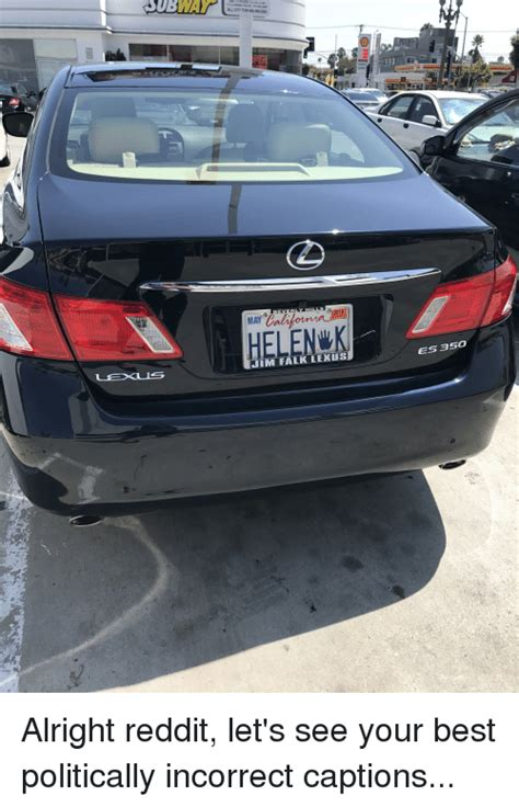 Falk Lexus by Subway Helenk Im Falk Lexus Es 350 Meme On Me Me