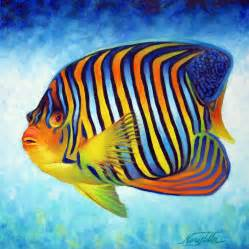 Royal queen angelfish by nancy tilles