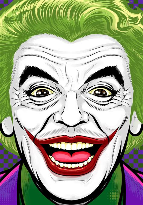 cartoon wallpaper portrait ceasar romero joker by thuddleston on deviantart