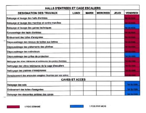 Calendrier Commun Nettoyage Des Communs Le Planning Coproguynemer