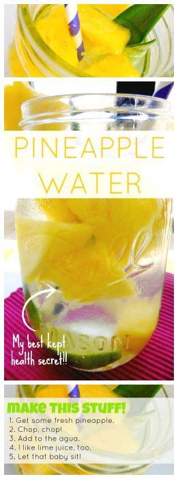 Pineapple Detox Benefits by How To Make Pineapple Water A Easy Recipe That Has