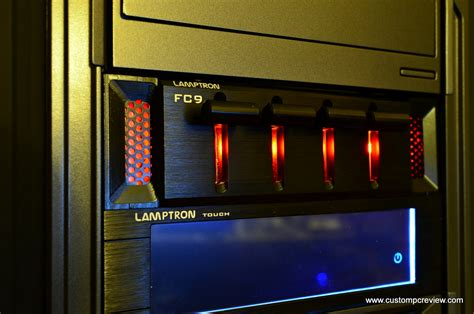 pc fan controller review ltron fc touch and fc9 fan controller review custom