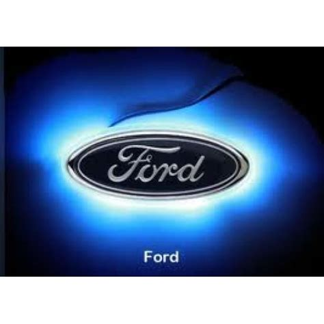 Led Decal Logo Light Emblem Ford Fiesta New Fiesta
