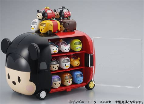 Tomica Dianey Motors Mickey Mouse tomica diecast disney motors tsum tsum carrier trailer truck deluxe display ebay