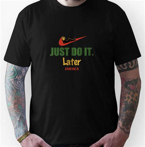 Just Do It Mi by Just Do It Later Jamaica Tshirt Unisex From Redbubble Mi