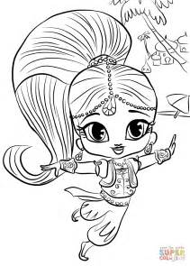 html printable version click the shimmer and shine coloring pages to view