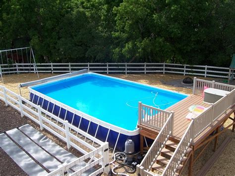 new above ground swimming pool decks doherty house
