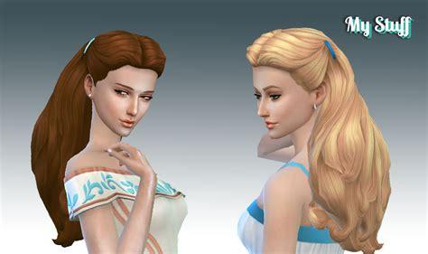 my sims 4 blog hair my sims 4 blog dream curls hair by kiara24