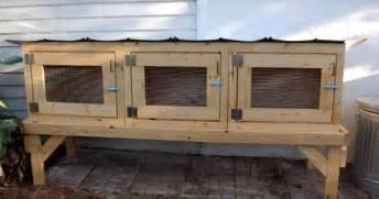 Rabbit Hutches Free To Home easy diy rabbit hutch plans do it your self
