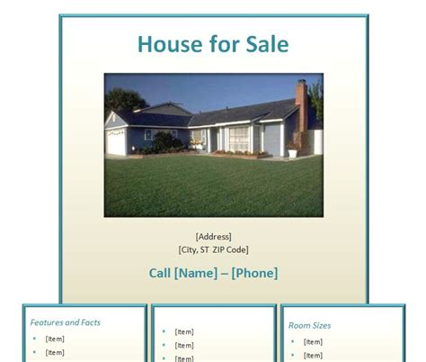 free home for sale flyer template home for sale flyer home for sale flyer template