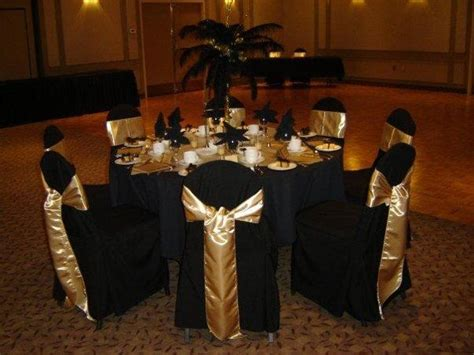 black and gold table decoration ideas black and gold year s wedding centerpieces