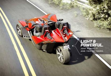 3 wheel car all new polaris slingshot 3 wheel car launches for 20 000
