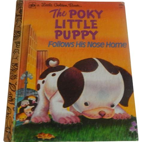 poky puppy book golden book the poky puppy from colemanscollectibles on ruby