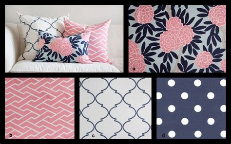 pink and navy crib bedding i like this idea of pink navy with a mix of designs you