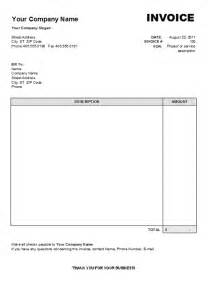 invoice template word invoice template word 2007 free printable