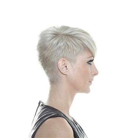 short white hair cuts rear view short haircuts back view onlyshort pixie haircuts for