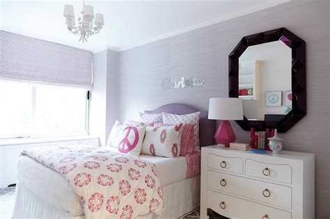Purple Kids Room Pink Accents Design Ideas Light Purple Bedroom