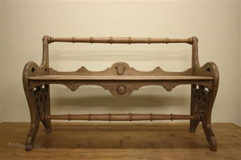antique hall bench english antique oak hall bench antiques atlas