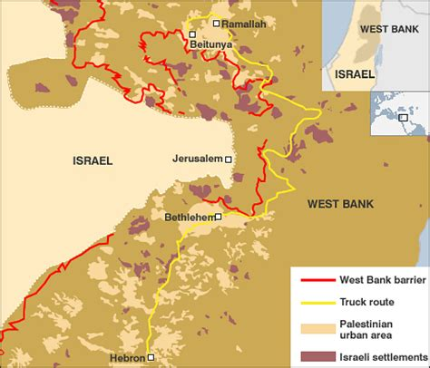 middle east map west bank news middle east working the west bank checkpoints