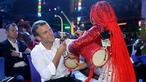 emmanuel macron nigeria quot what happens in the shrine stays in the shrine quot french
