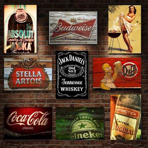 imagenes vintage marcas placas decorativas mdf retr 244 vintage cervejas bebidas